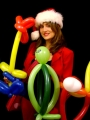 Christmas Balloon Sculpting